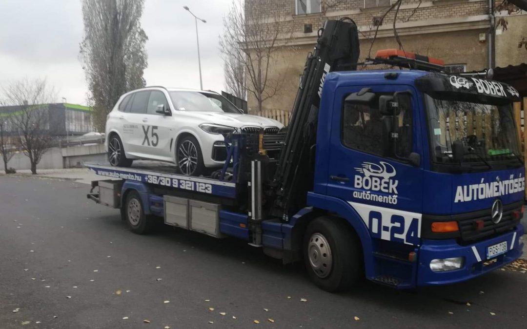 A darus autómentés a téli időszakban különösen nagy segítség!